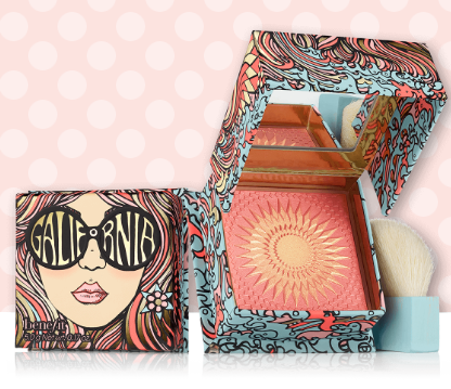 Benefit Cosmetics: Galifornia Sunny-Golden Pink Blush