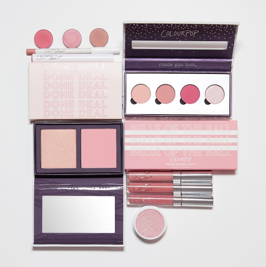 Colourpop: Done Deal & Belle of the Ball Pressed Powder Palettes