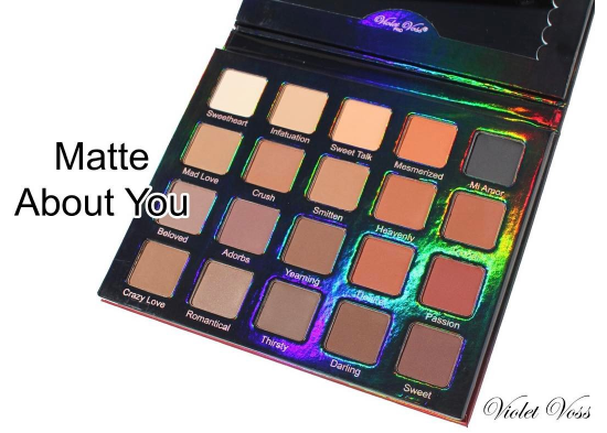 Violet Voss: Matte About You Eyeshadow Palette