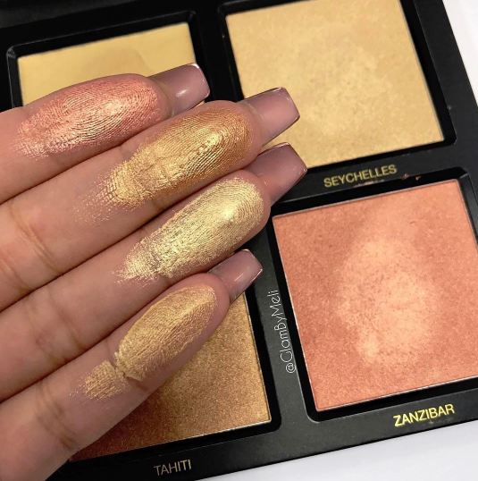 Huda Beauty: 3D Highlighter Palette