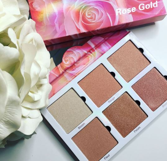 Violet Voss: Rose Gold Highlighter Palette