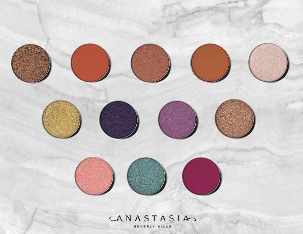 Anastasia Beverly Hills: New Single Eye Shadows