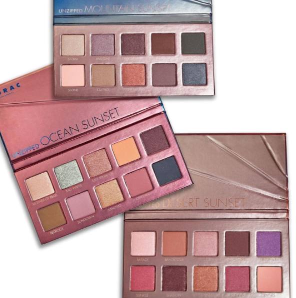 Lorac: Unzipped Eyeshadow Collection