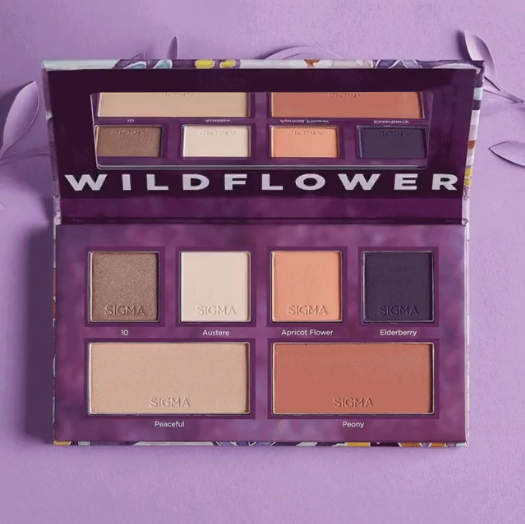 Sigma Beauty: Wildflower Collection