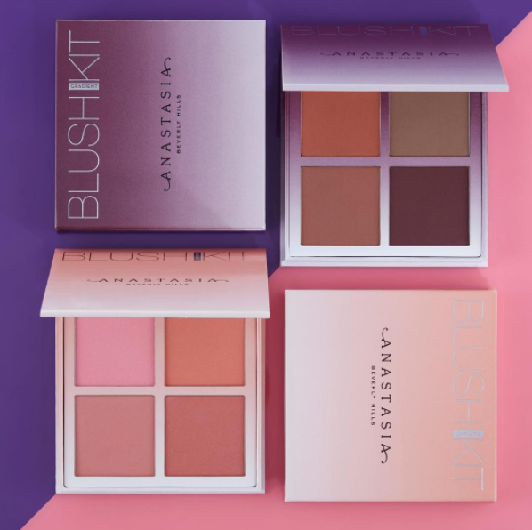 Anastasia Beverly Hills: Radiant & Gradient Blush Kits   First Look + Swatches