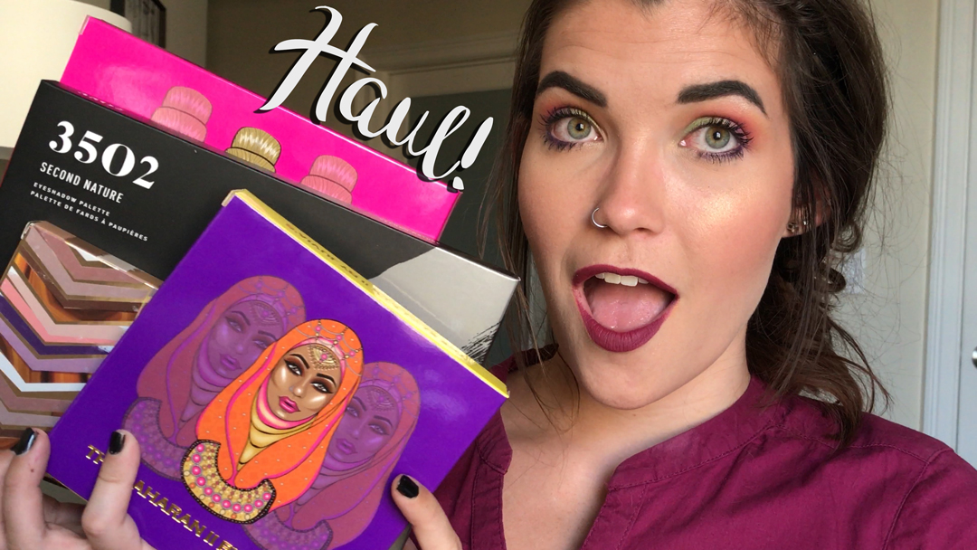 HUGE Eyeshadow Palette Haul 2017 ♡