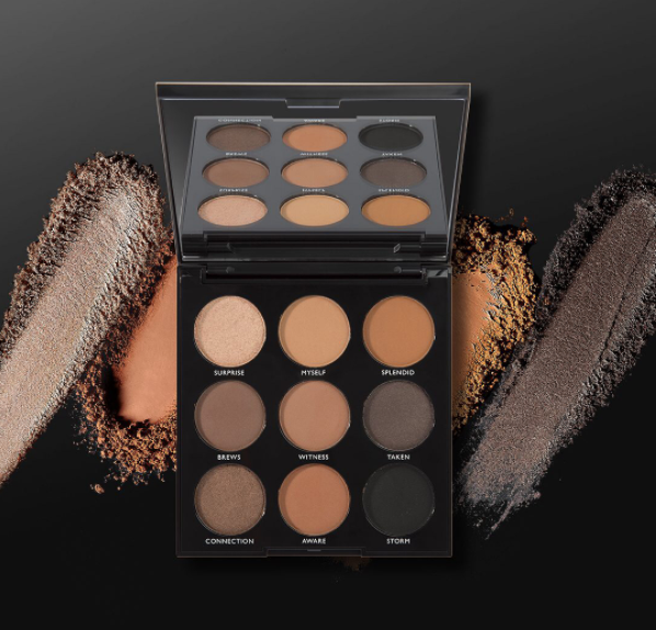 Morphe: 9A Always Golden Eyeshadow Palette