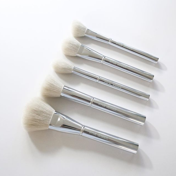 Kylie Cosmetics: Silver Series Brush Collection