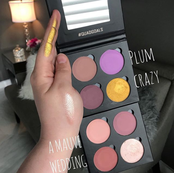 Give Me Glow: New Quad Goals Palettes
