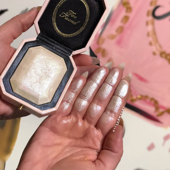 Too Faced Diamond Highlighter Swatches Makeup Fomo