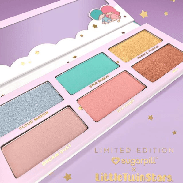 Sugarpill X Little Twin Stars