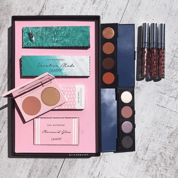 Colourpop X Eva Gutowski