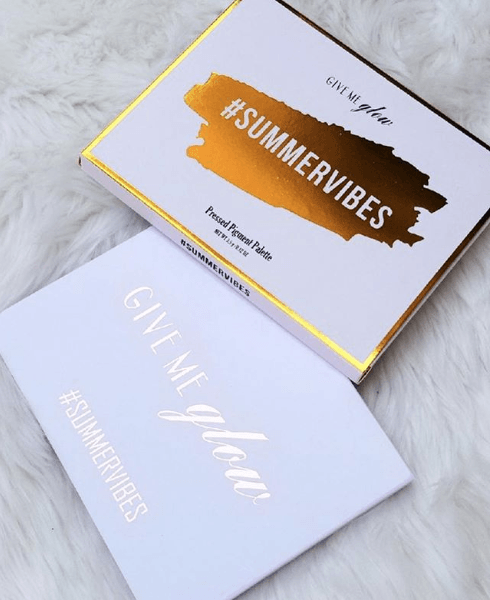 Give Me Glow: Summer Vibes Palette