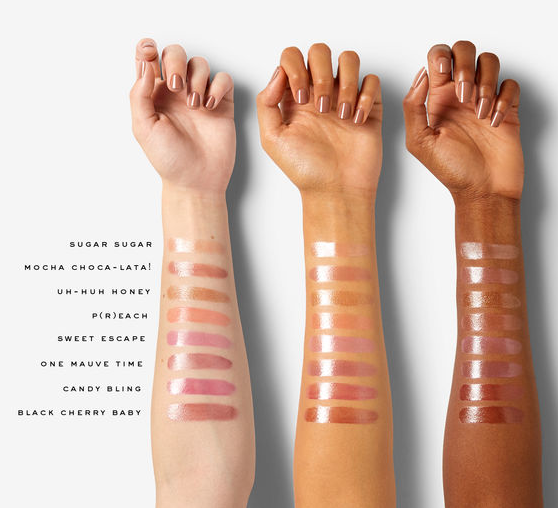 Marc Jacobs Beauty Gloss Stick Swatches