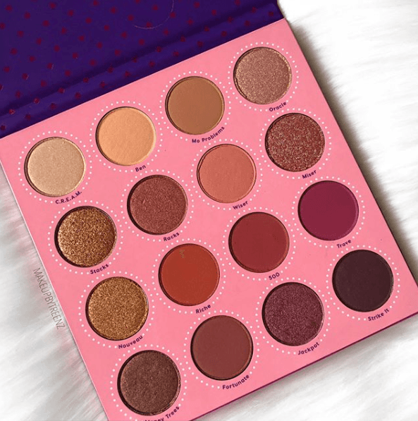 Colourpop: Fortune Eyeshadow Palette