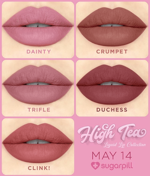 Sugarpill: High Tea Collection