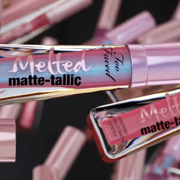 Too Faced: Matte-tallic Liquid Lipsticks