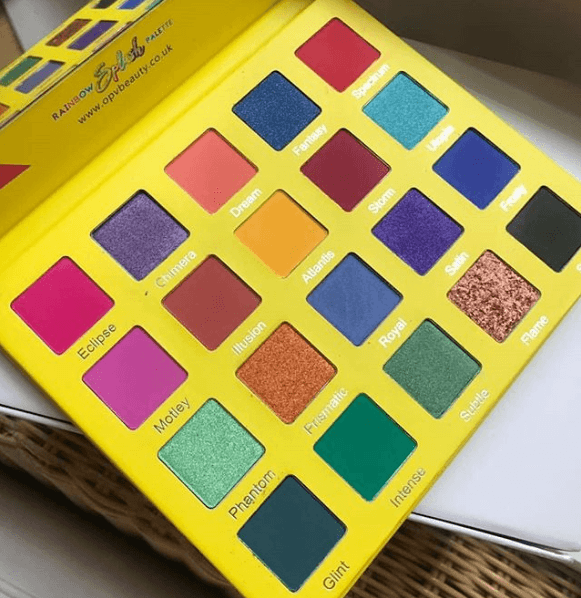 OPV Beauty: Rainbow Splash Eyeshadow Palette