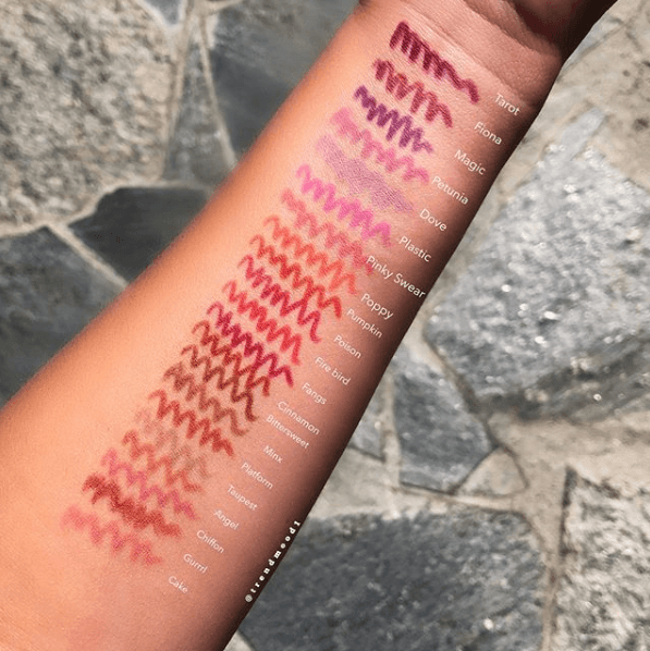 Lime Crime: Velvetines Lip Liners | Swatches | Makeup FOMO
